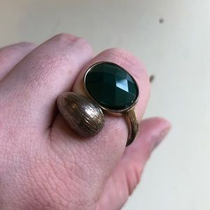 Green costume ring